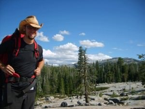 a youth leader on one of our California backpacking camps