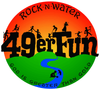Rock-N-Water's 49er Fun - Circle Main Logo