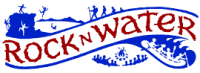 Rock-N-Water Christian Camps Mobile Logo